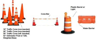 Cones & Channelizer